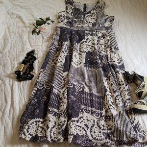 Coldwater Creek Maxi Dress size 16 cotton,